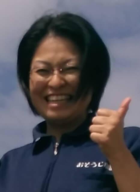 掃除講座卒業山崎 かおりさん