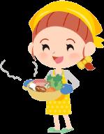 子供の成長に合わせた食事が用意できる