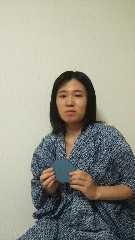 風水講座卒業水野 百合亜さん