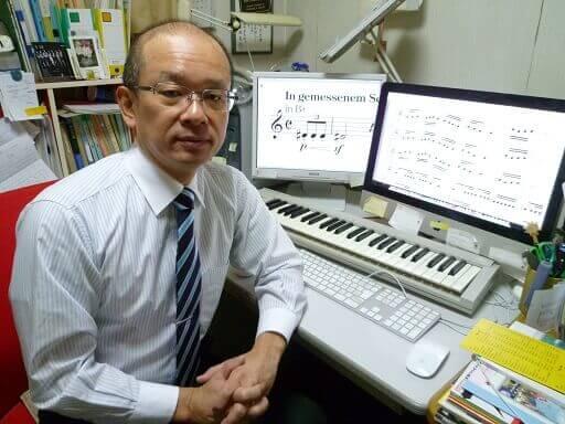 音楽療法講座卒業神野 忠彦さん