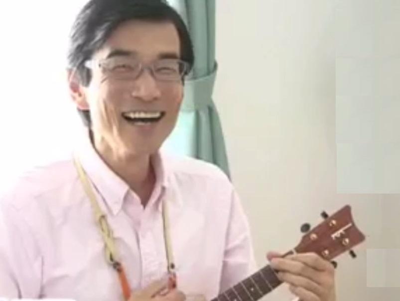 音楽療法講座卒業渡部 卓さん