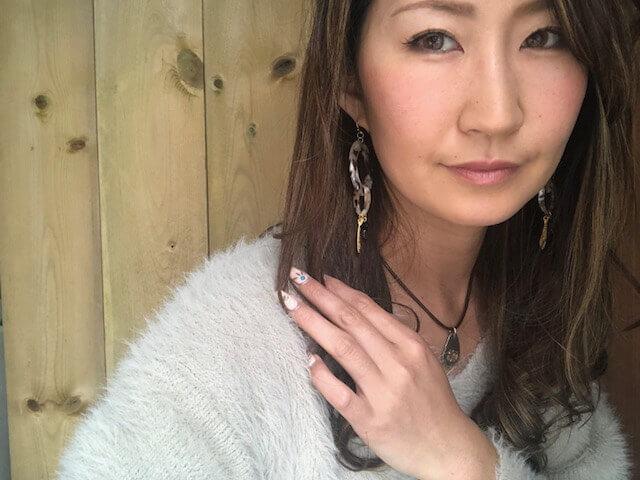 ビーズアクセサリー講座卒業梅本彩子さん