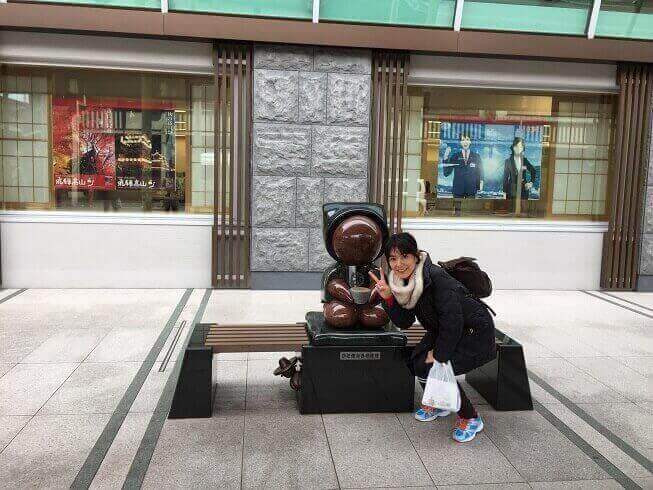 フラワーアレンジメント講座卒業金田恵美子さん
