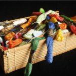 こんなに違う?刺繍糸の種類やメーカー別の違いについて