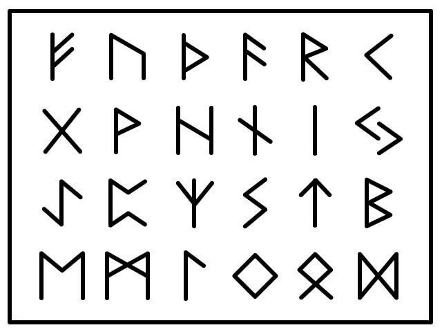 ルーン文字ってなに?ルーン文字の種類と読み方について