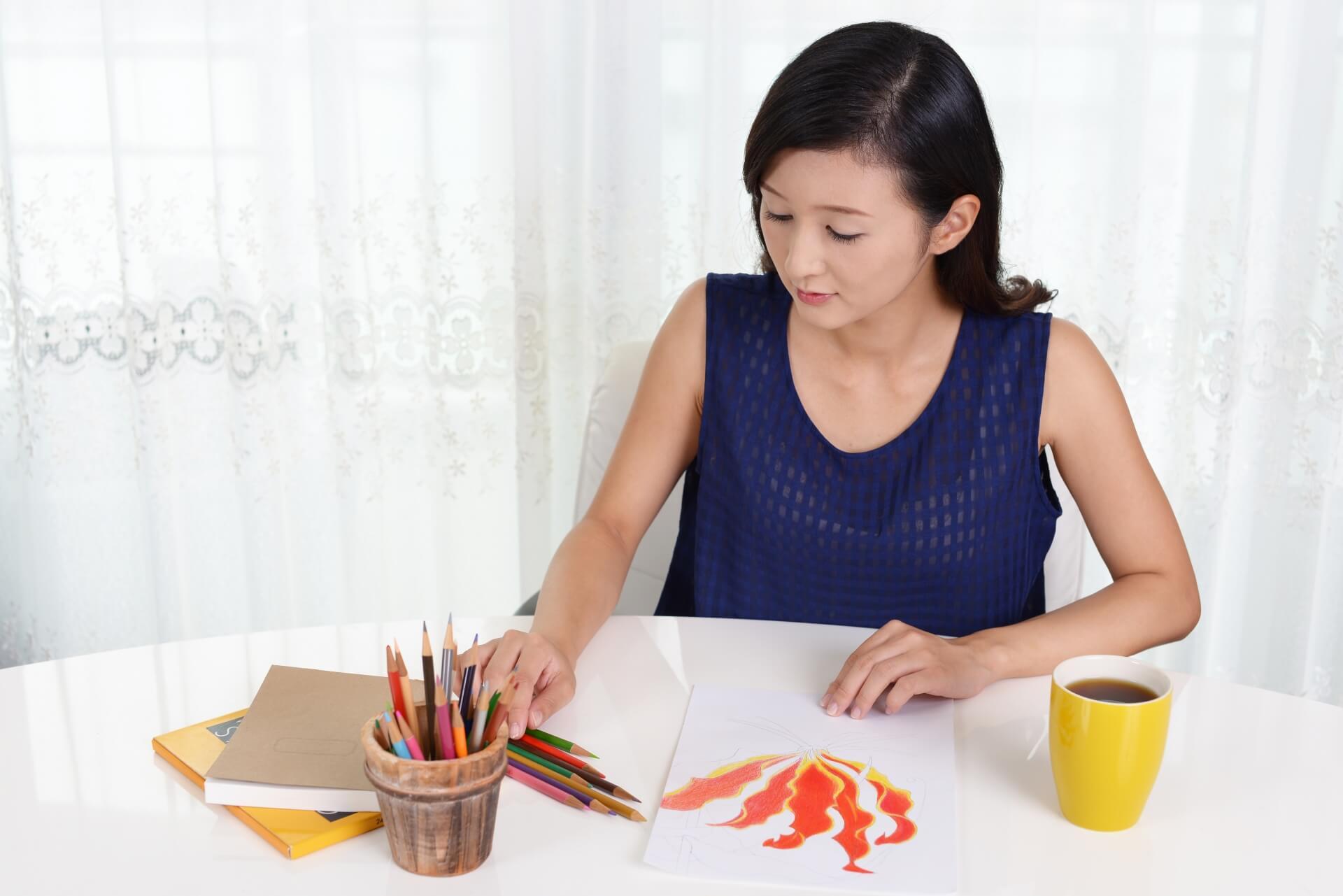 絵画インストラクター