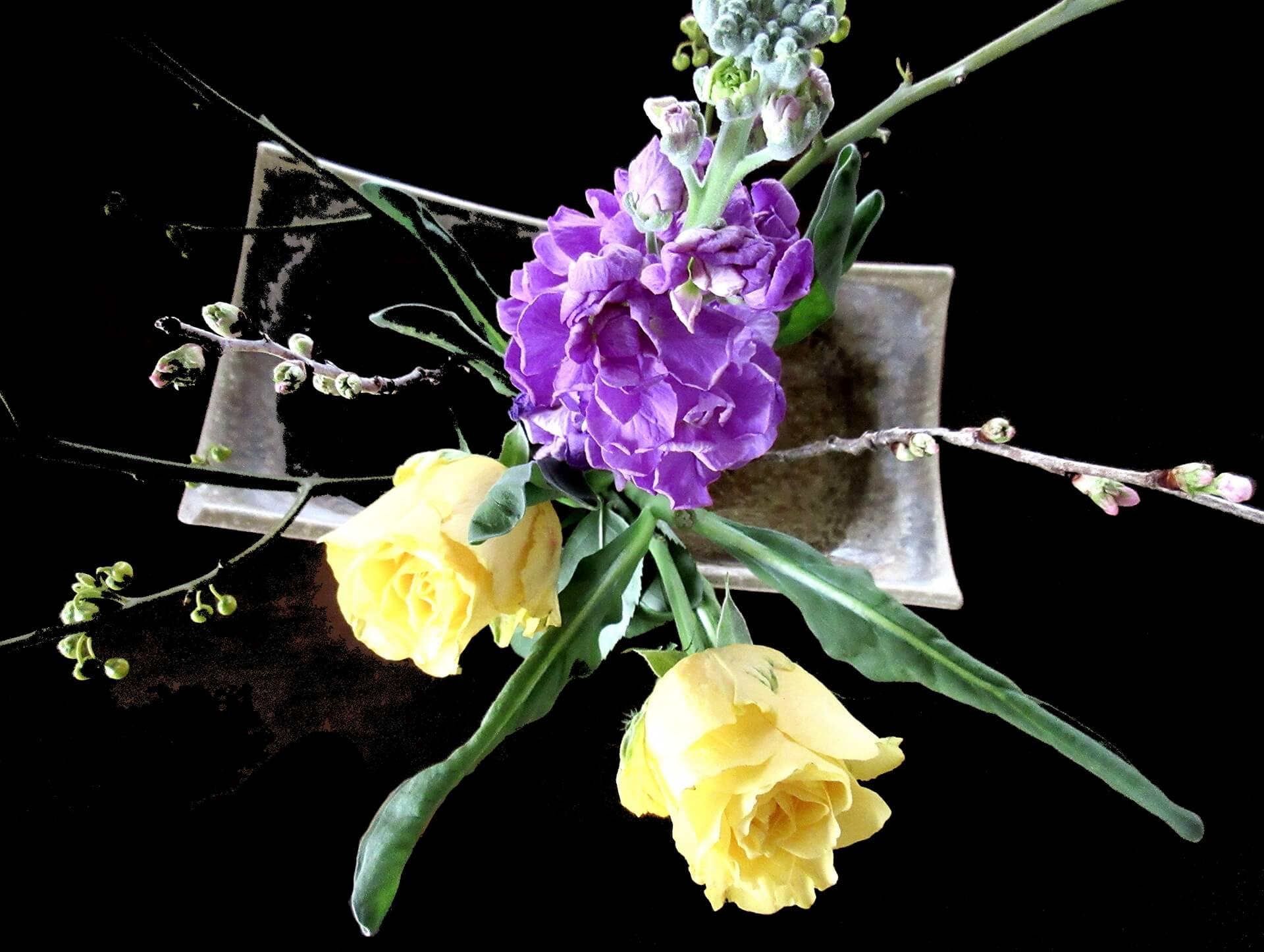 花の活け方インストラクター